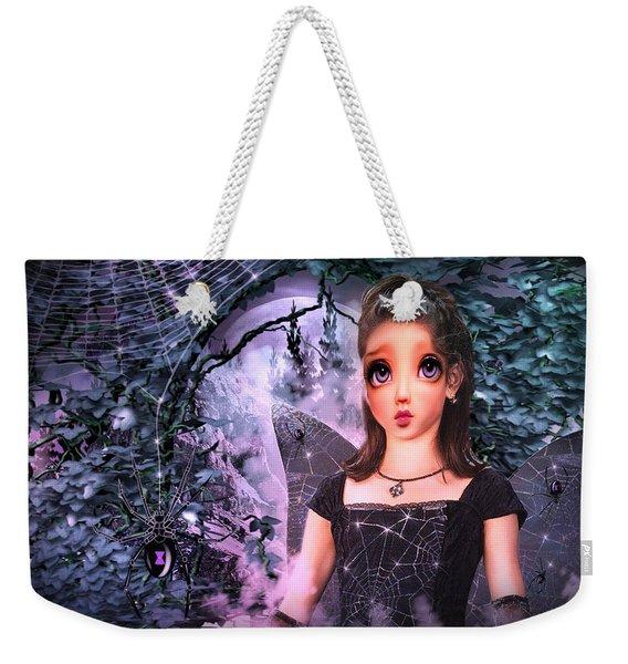 Black Widow Princess Weekender Tote Bag