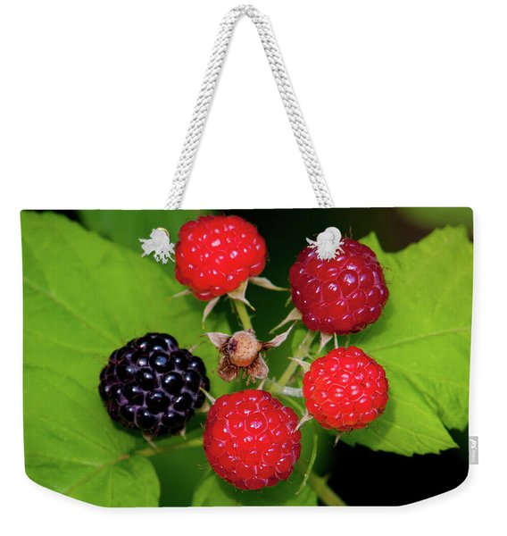 Blackberries Weekender Tote Bag