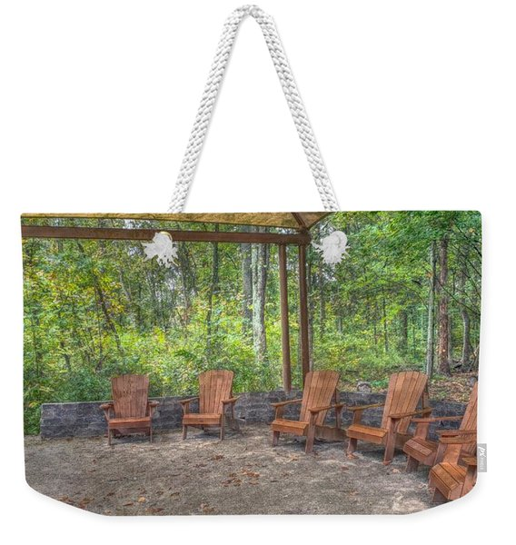 Blacklick Woods - Chairs Weekender Tote Bag