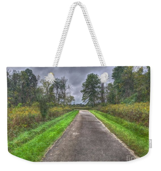 Blacklick Woods Pathway Weekender Tote Bag