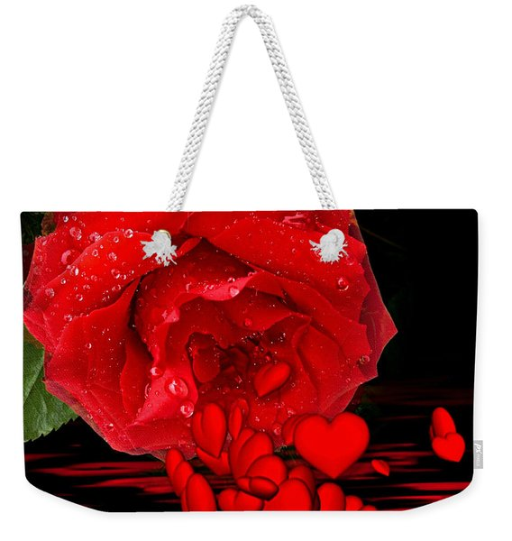 Bleeding Love Weekender Tote Bag