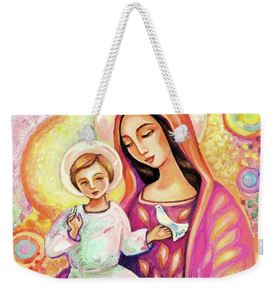 Blessing From Light Weekender Tote Bag