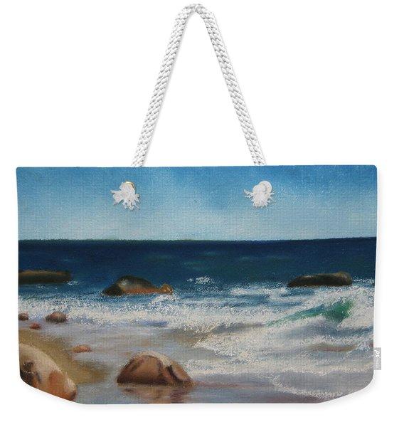 Block Island Surf Weekender Tote Bag