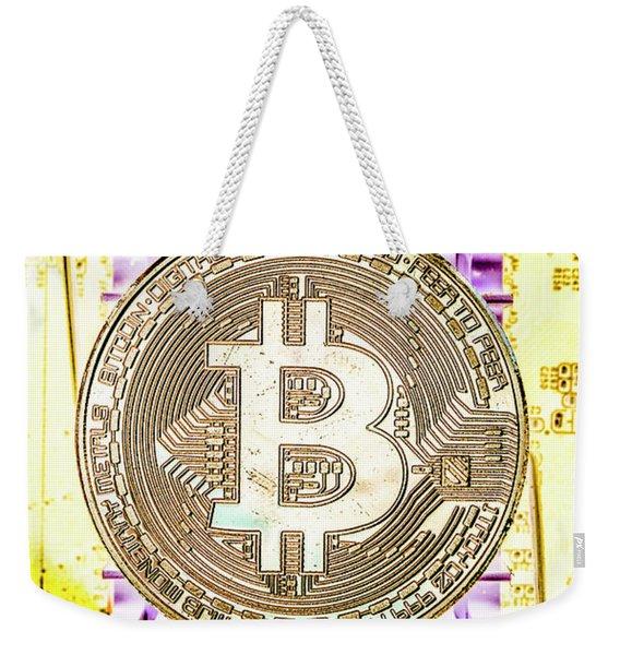 Blockchain Processing Weekender Tote Bag