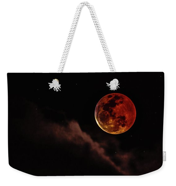 Blood Moon Rising Weekender Tote Bag