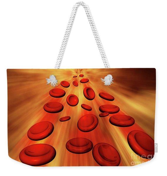 Bloodstream Weekender Tote Bag
