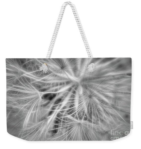 Bloomed Black And White Weekender Tote Bag