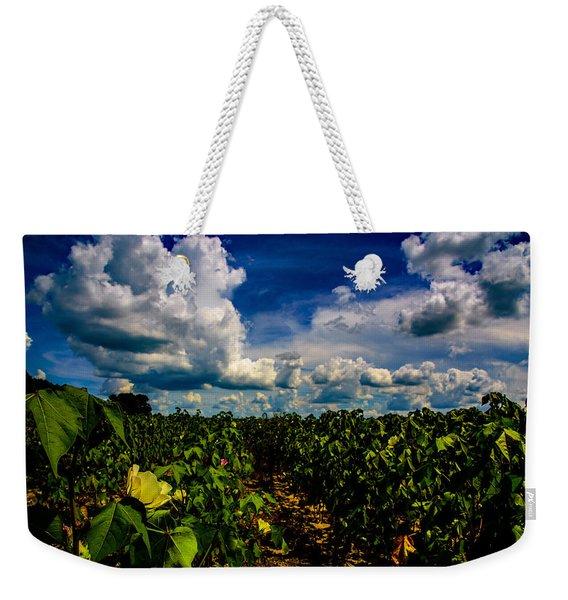Blooming Cotton  Weekender Tote Bag