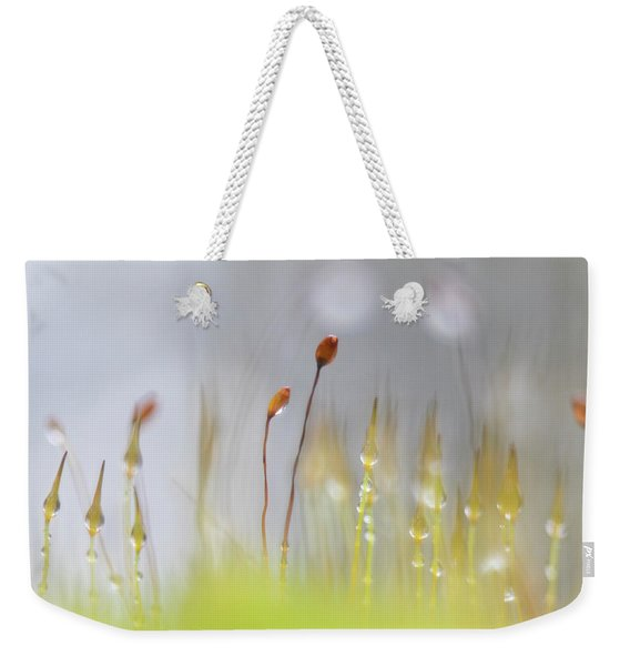 Blooming Moss Weekender Tote Bag