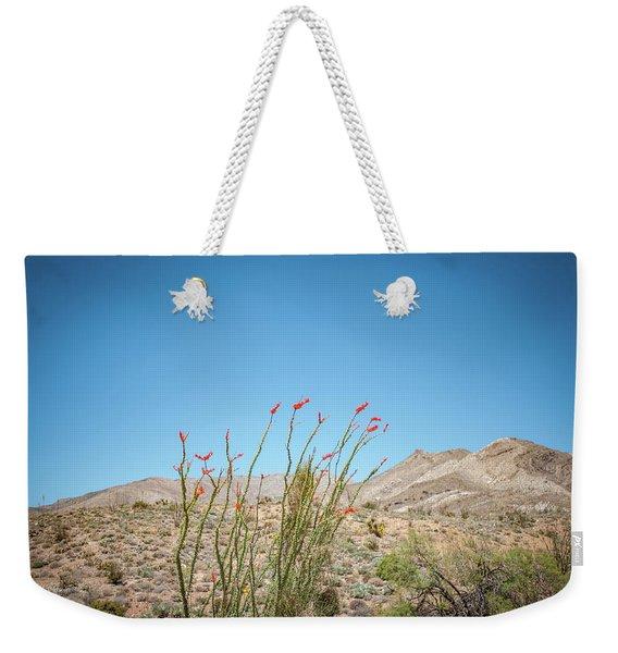 Blooming Ocotillo Weekender Tote Bag