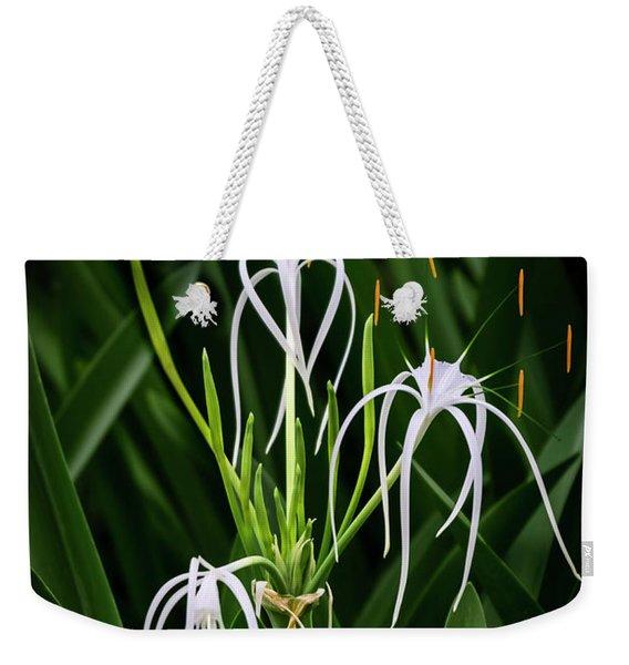 Blooming Poetry 4 Weekender Tote Bag
