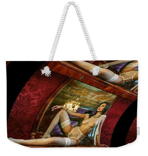 Blooming Queen Weekender Tote Bag