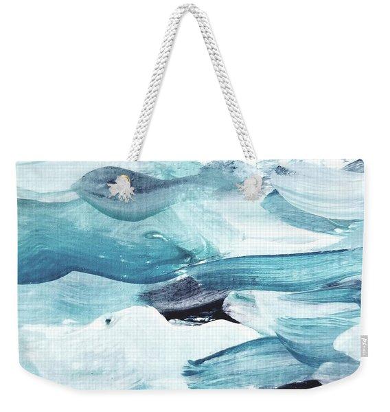 Blue #13 Weekender Tote Bag