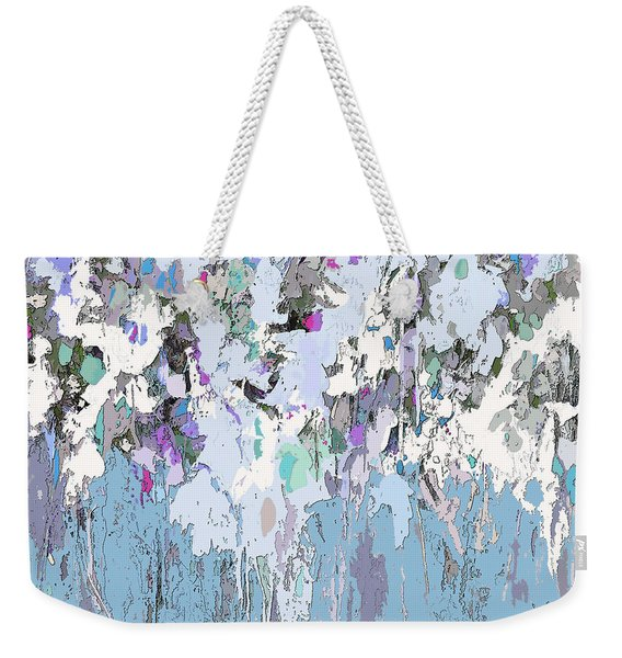 Blue Bloom II Weekender Tote Bag