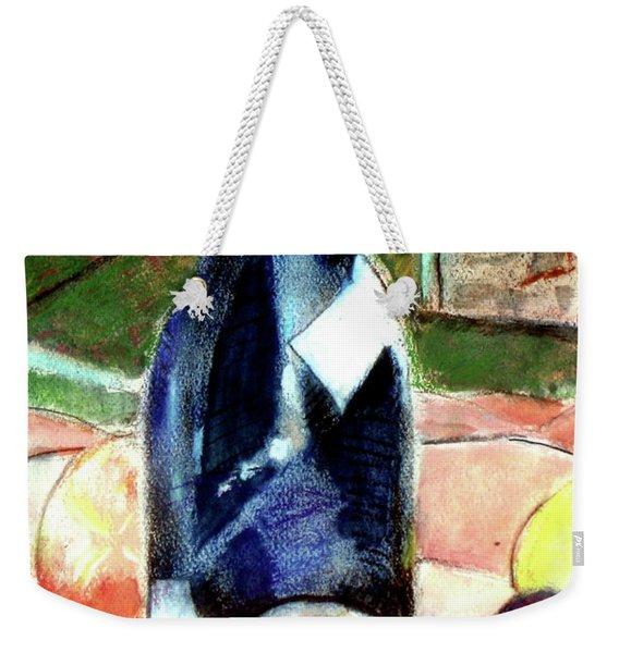 Blue Bottle Weekender Tote Bag