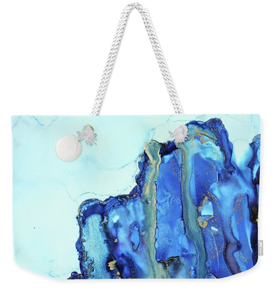 Blue Cliffs Weekender Tote Bag
