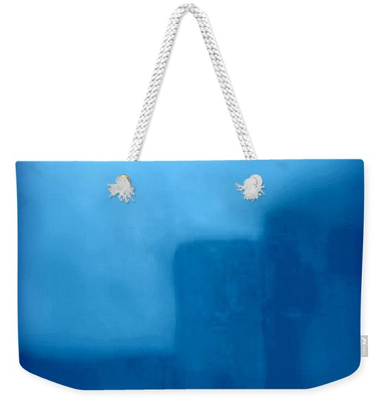 Blue Day - The Sound Of Silence  Weekender Tote Bag