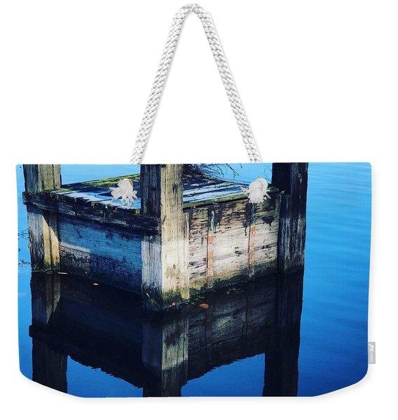 Blue Dock Weekender Tote Bag