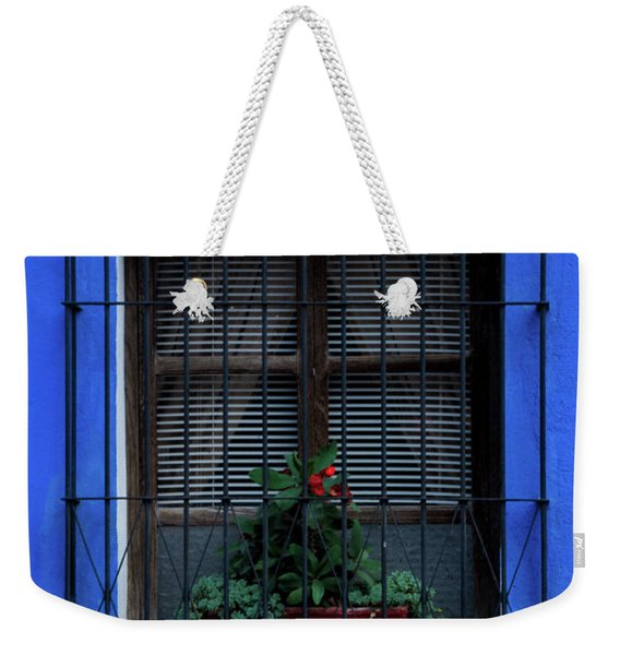 Blue-ming Beauty Weekender Tote Bag