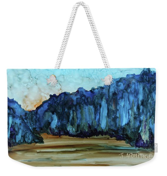 Blue Mountains II Weekender Tote Bag