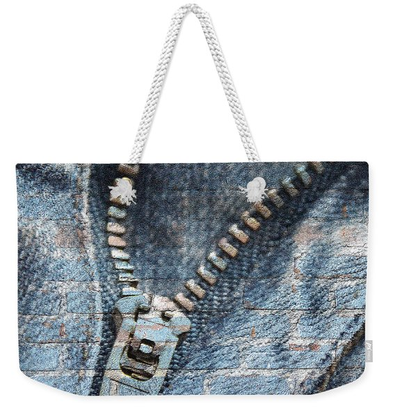 Sexy Blue Jeans Weekender Tote Bag