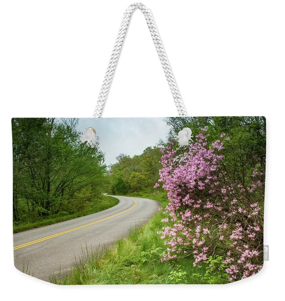Blue Ridge Parkway In Bloom Weekender Tote Bag