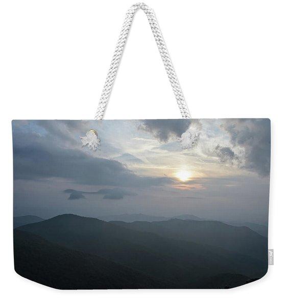 Blue Ridge Parkway Sunset Weekender Tote Bag