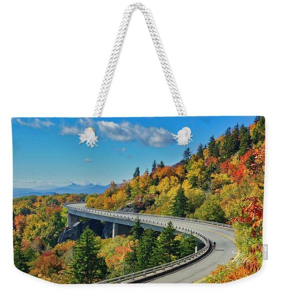 Blue Ridge Parkway Viaduct Weekender Tote Bag