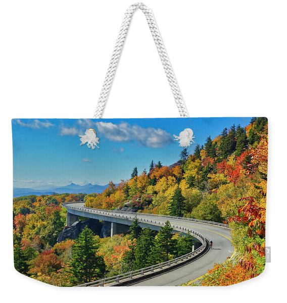 Blue Ridge Parkway Viaduct Weekender Tote Bag