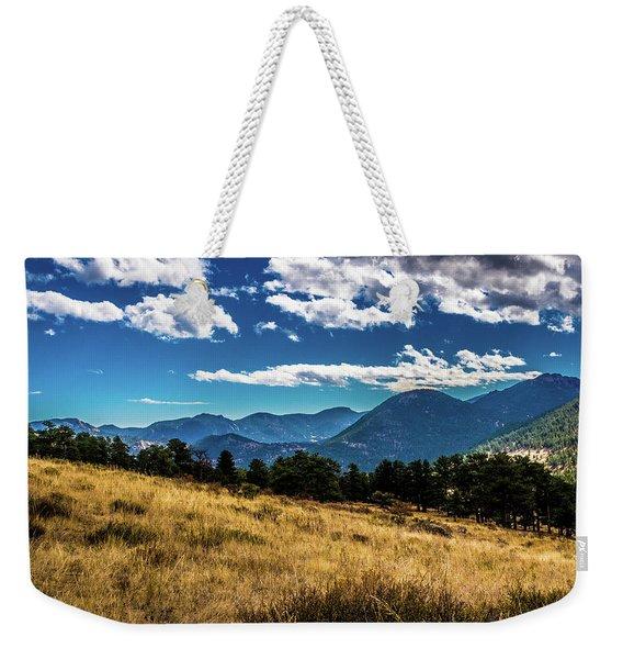Blue Skies And Mountains Weekender Tote Bag