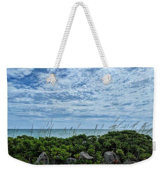 Blue Sky Lullaby Weekender Tote Bag