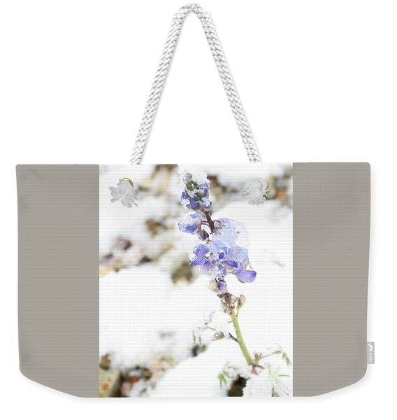 Blue Survivor Weekender Tote Bag