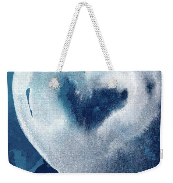Blue Valentine- Art By Linda Woods Weekender Tote Bag