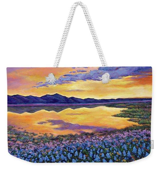 Bluebonnet Rhapsody Weekender Tote Bag