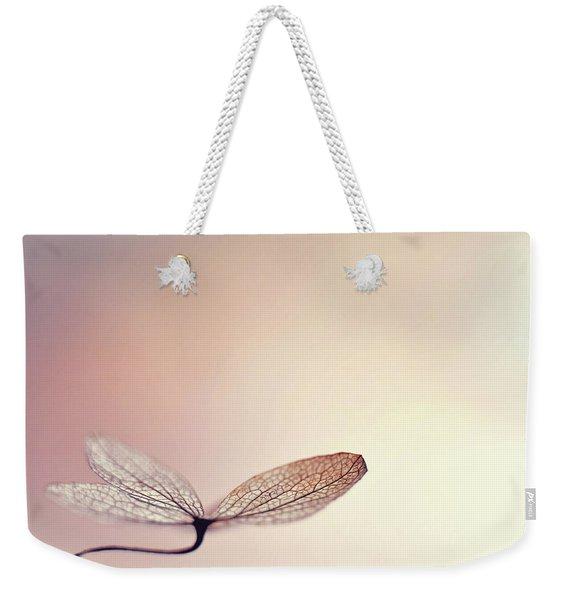 Blushing Weekender Tote Bag