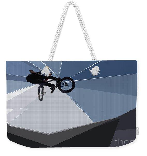 Bmx Biking  Weekender Tote Bag