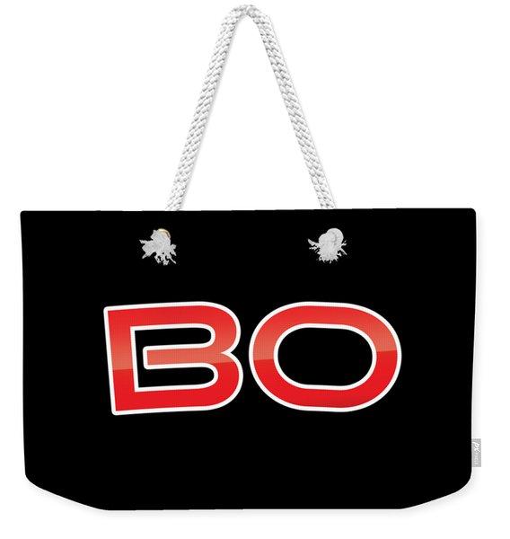 Bo Weekender Tote Bag