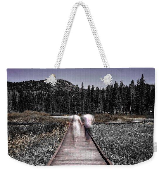 Boardwalk Weekender Tote Bag