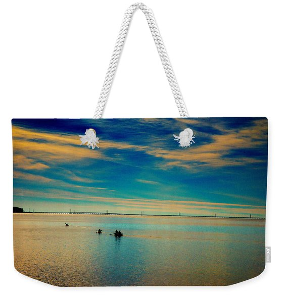 Boaters On The Sound Weekender Tote Bag