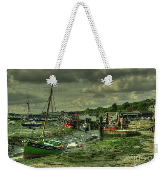 Boats At Leigh On Sea  Weekender Tote Bag