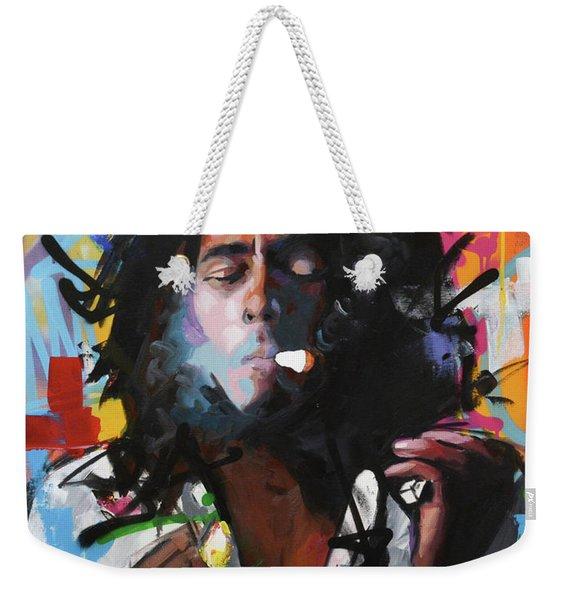 Bob Marley Iv Weekender Tote Bag