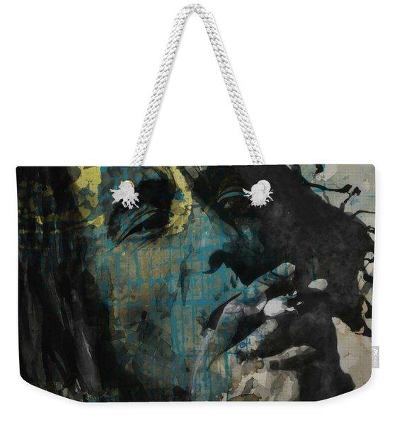 Bob Marley - Redemption  Weekender Tote Bag