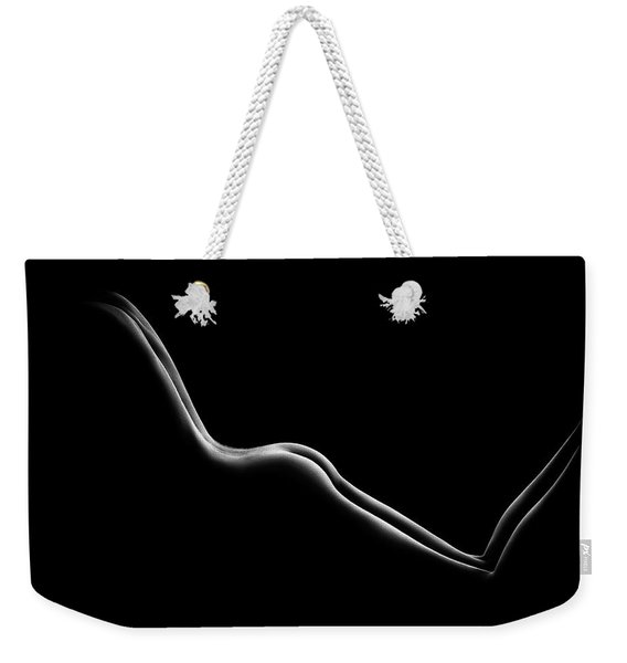 Bodyscape Nude Woman Buttocks Weekender Tote Bag