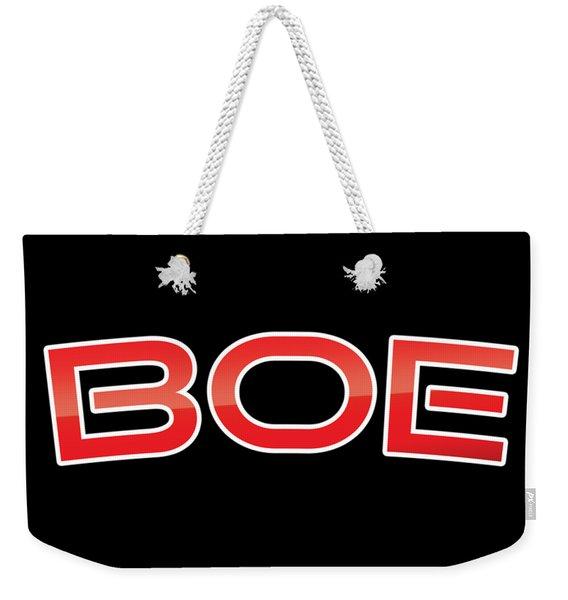 Boe Weekender Tote Bag
