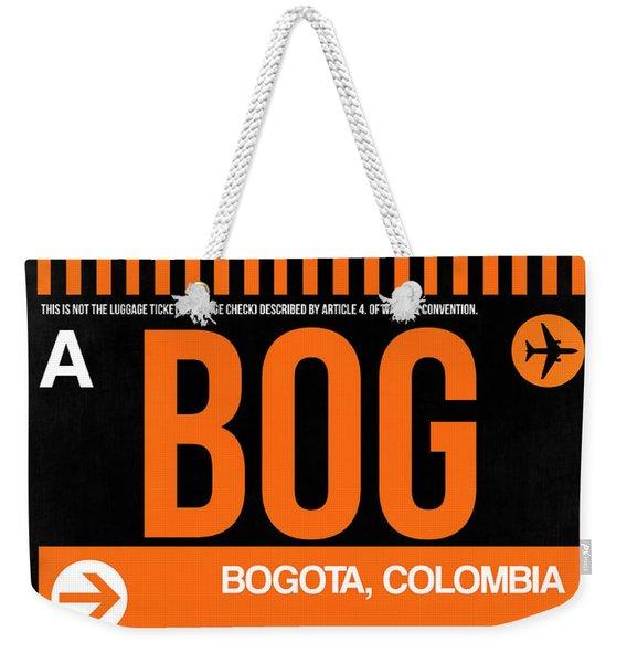 Bog Bogota Luggage Tag II Weekender Tote Bag