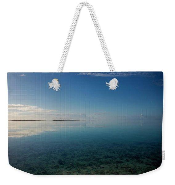 Bonefish Flats, Great Exuma Weekender Tote Bag