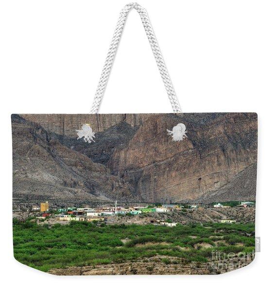 Boquillas Mexico Weekender Tote Bag