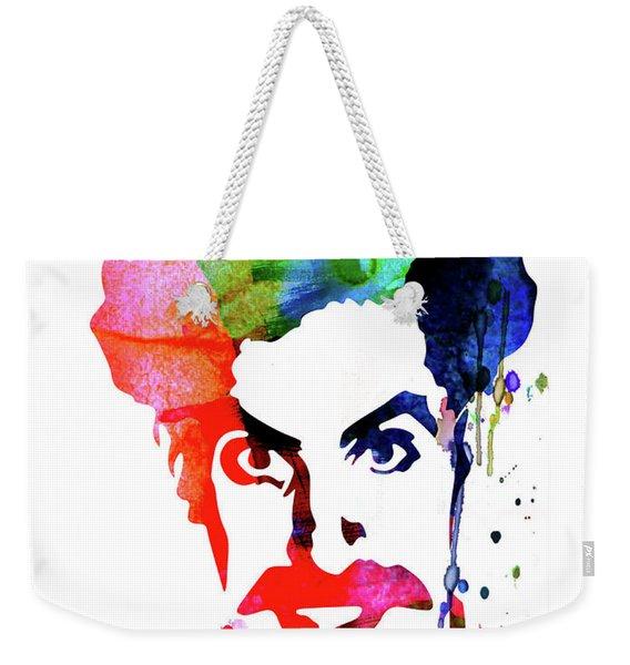 Borat Watercolor Weekender Tote Bag