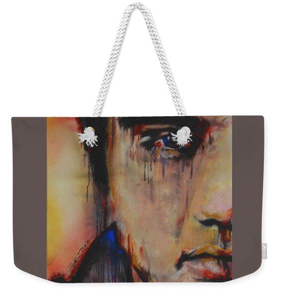 Born Standing Up Weekender Tote Bag