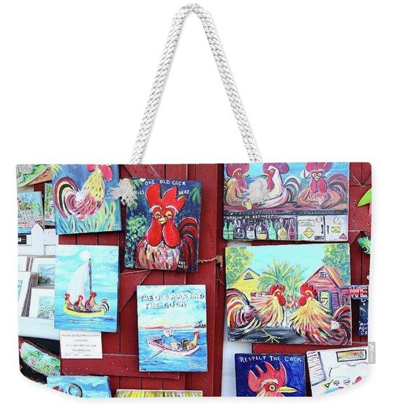 Bo's Arts Weekender Tote Bag